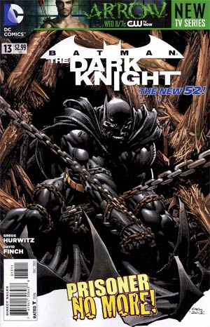 Batman The Dark Knight Vol 2 #13 Regular David Finch Cover
