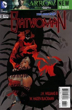 Batwoman #13 Regular JH Williams III Cover