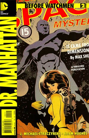 Before Watchmen Dr Manhattan #2 Regular Adam Hughes Cover