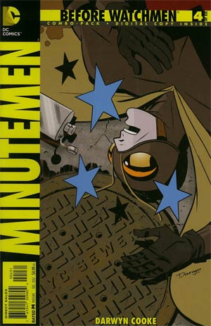 Before Watchmen Minutemen #4 Combo Pack With Polybag