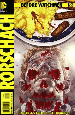 Before Watchmen Rorschach #2 Regular Lee Bermejo Cover