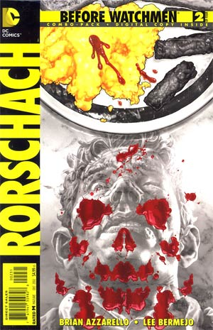 Before Watchmen Rorschach #2 Combo Pack With Polybag