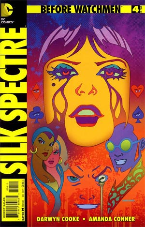 Before Watchmen Silk Spectre #4 Regular Amanda Conner Cover
