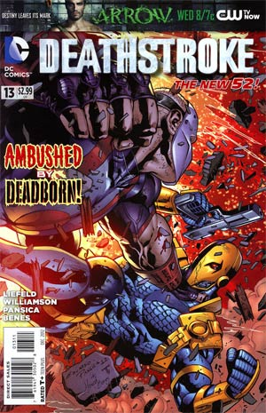 Deathstroke Vol 2 #13