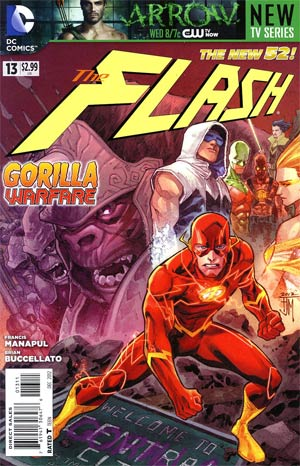 Flash Vol 4 #13 Regular Francis Manapul Cover