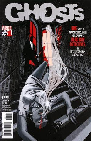 Ghosts Vol 2 #1 Regular Dave Johnson Cover