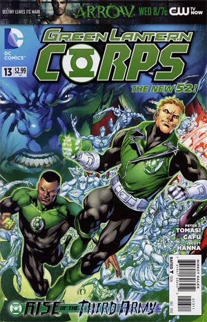 Green Lantern Corps Vol 3 #13 Regular Ivan Reis Cover (Rise Of The Third Army Tie-In)