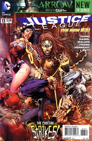 Justice League Vol 2 #13 Regular Tony S Daniel Cover