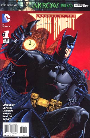 Legends Of The Dark Knight #1 Regular Ethan Van Sciver Cover