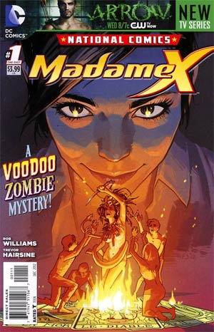 National Comics Madame X #1