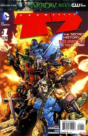 Team 7 Vol 2 #1 Cover A Regular Doug Mahnke Cover