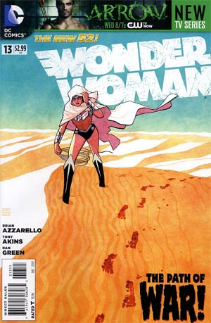 Wonder Woman Vol 4 #13 Regular Cliff Chiang Cover
