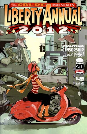 CBLDF Liberty Annual 2012 Cover B Terry Dodson