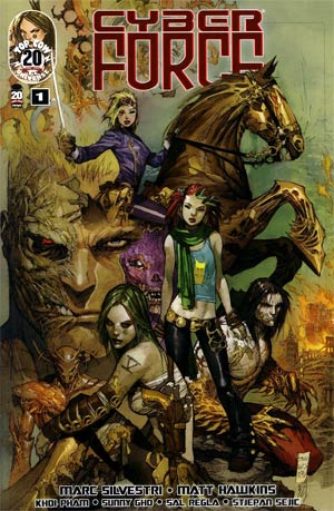 Cyberforce Vol 4 #1 Regular Marc Silvestri Cover