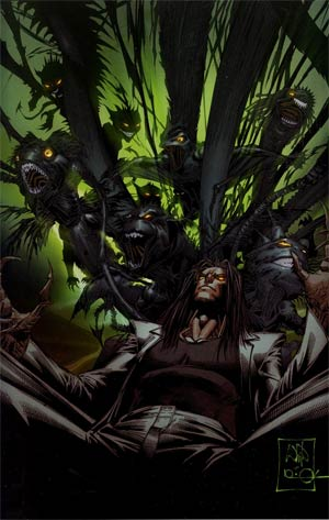 Darkness Vol 3 #105 SDCC Exclusive Whilce Portacio Variant Cover