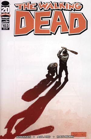 Walking Dead #103 Regular Charlie Adlard Cover