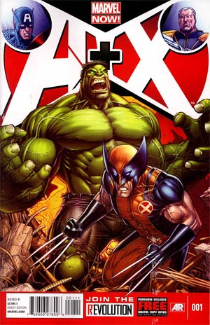 A Plus X #1 Regular Dale Keown Cover