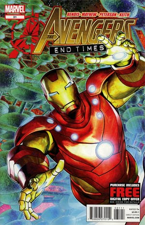 Avengers Vol 4 #31 Regular Brandon Peterson Cover (Avengers vs X-Men Fallout Tie-In)