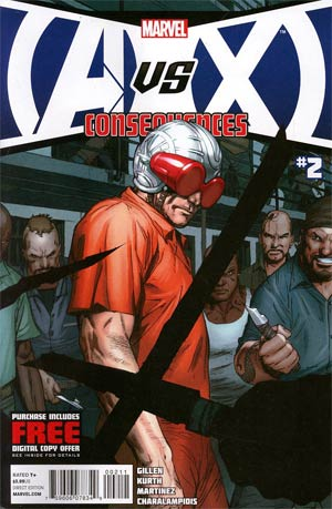 AVX Consequences #2 Cover A 1st Ptg Regular Ron Garney Cover