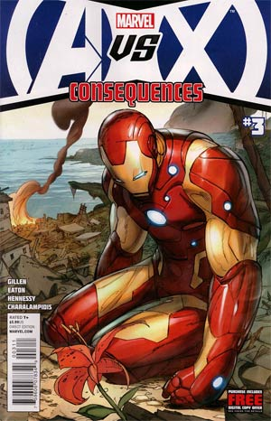 AVX Consequences #3 1st Ptg Regular Ron Garney Cover