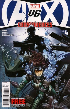 AVX Consequences #4 Cover A 1st Ptg Regular Salvador Larroca Cover