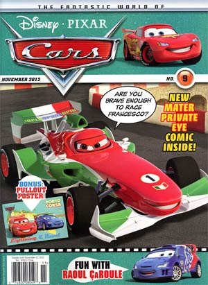 Disney Cars Magazine #9
