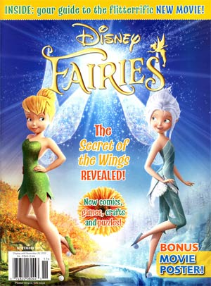 Disney Fairies Magazine #9