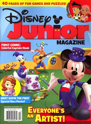 Disney Junior Magazine #9