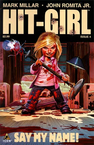 Hit-Girl #4 Regular John Romita Jr Cover