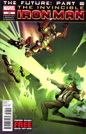 Invincible Iron Man #526 Regular Salvador Larroca Cover