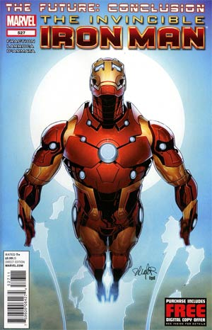 Invincible Iron Man #527 Regular Salvador Larroca Cover