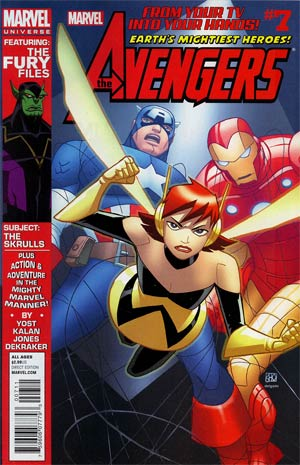 Marvel Universe Avengers Earths Mightiest Heroes #7