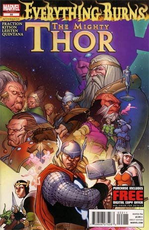 Mighty Thor #22 Regular Pasqual Ferry Cover
