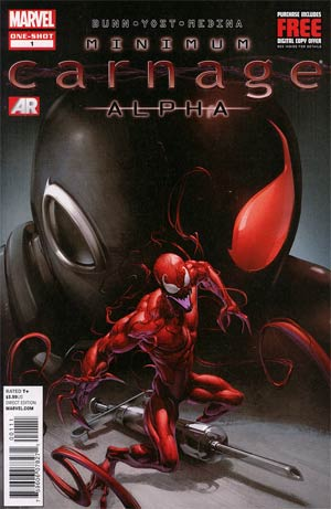 Minimum Carnage Alpha #1 1st Ptg Regular Clayton Crain Cover (Minimum Carnage Part 1)