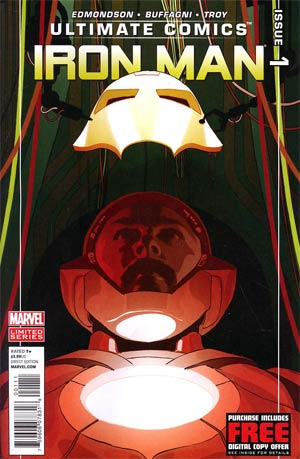 Ultimate Comics Iron Man #1 Regular Frank Stockton Cover