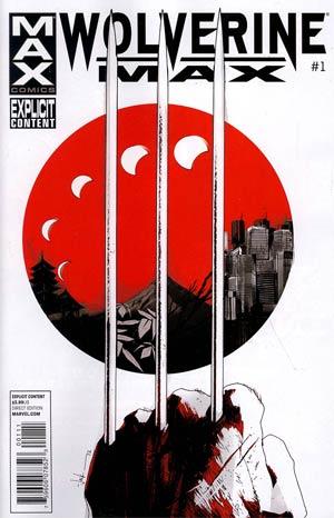 Wolverine MAX #1 1st Ptg Regular Jock Cover