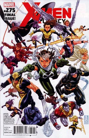 X-Men Legacy #275 Cover A Regular Mark Brooks Cover