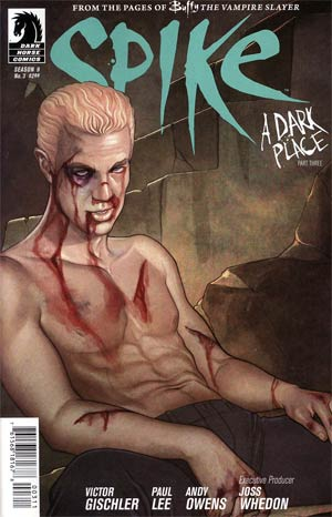 Buffy The Vampire Slayer Spike #3 Regular Jenny Frison Cover