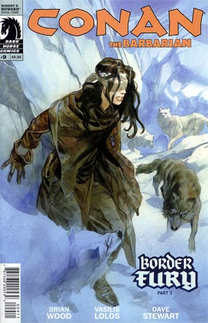 Conan The Barbarian Vol 3 #9