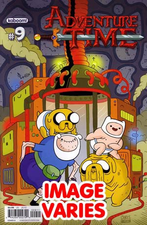 DO NOT USE Adventure Time #9 Regular Cover (Filled Randomly With 1 Of 2 Covers)
