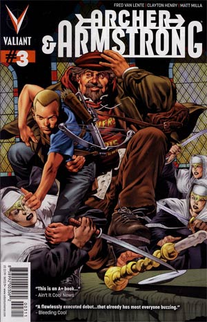 Archer & Armstrong Vol 2 #3 Regular Arturo Lozzi Cover
