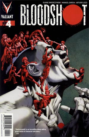 Bloodshot Vol 3 #4 Regular Arturo Lozzi Cover