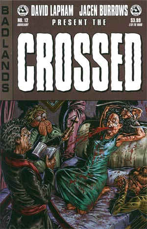 Crossed Badlands #12 Auxiliary Edition