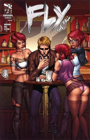 Fly (Zenescope) Vol 2 #1 Cover B Ale Garza