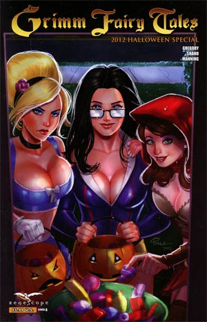 Grimm Fairy Tales Halloween Special 2012 Cover A Joe Pekar