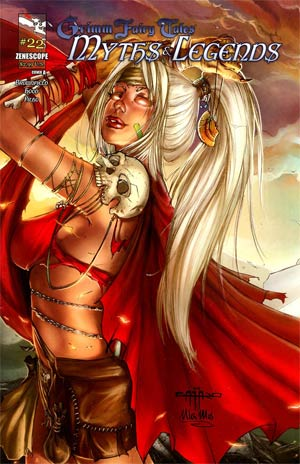 Grimm Fairy Tales Myths & Legends #22 Cover A Giuseppe Cafaro