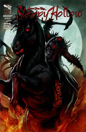 Grimm Fairy Tales Presents Sleepy Hollow #1 Cover A Stjepan Sejic