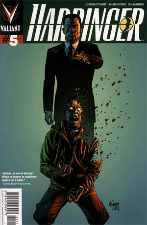 Harbinger Vol 2 #5 Regular Mico Suayan Cover