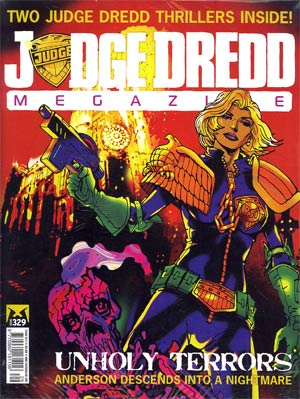 Judge Dredd Megazine #329
