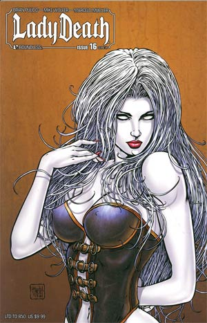 Lady Death Vol 3 #16 Close Up Cover
